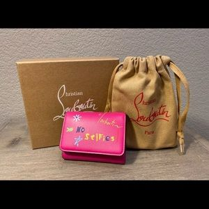 CHRISTIAN LOUBOUTIN New with receipt wallet